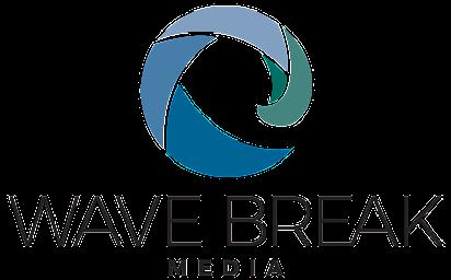Wave Break Media Company Logo