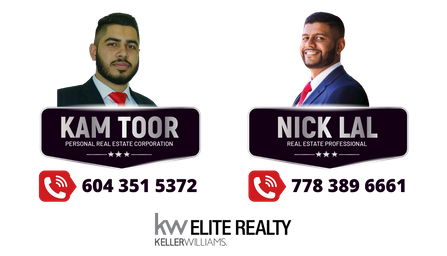 Kam Toor & Nick Lal Logo